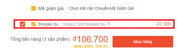 Dùng Shopee Xu