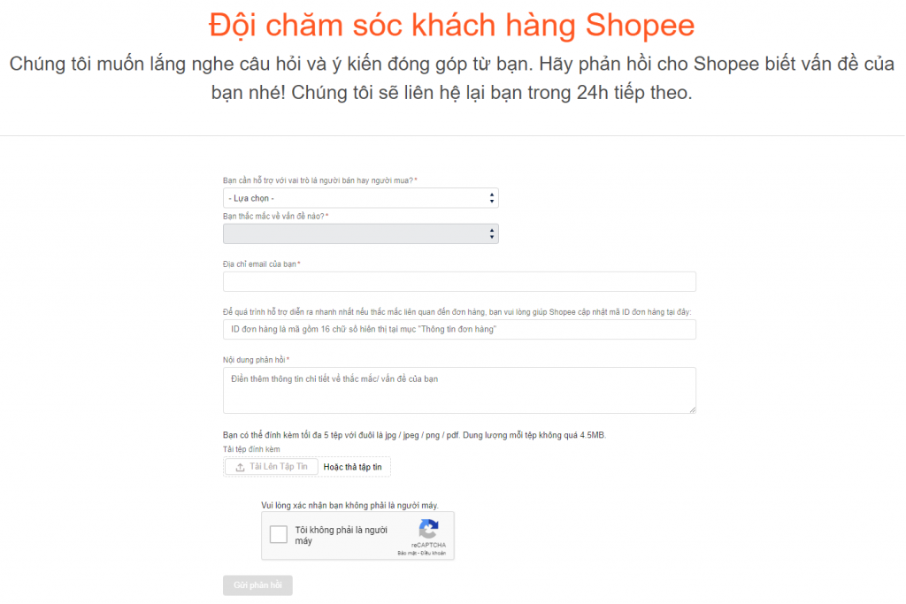 Email hỗ trợ